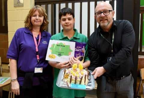 Learner Elliot Stars At Arts Festival