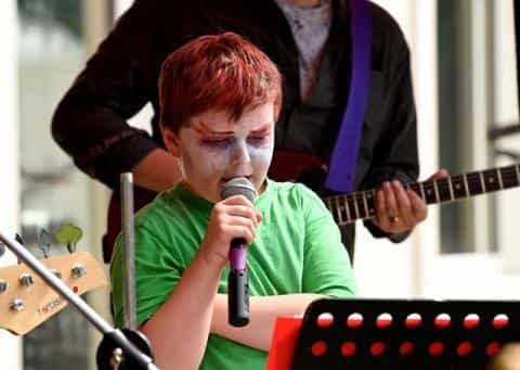 Music the catalyst for Harvey's development as independence skills and confidence grow