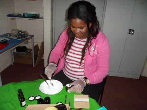 Learners Create Items To Sell At Aromatherapy Workshops