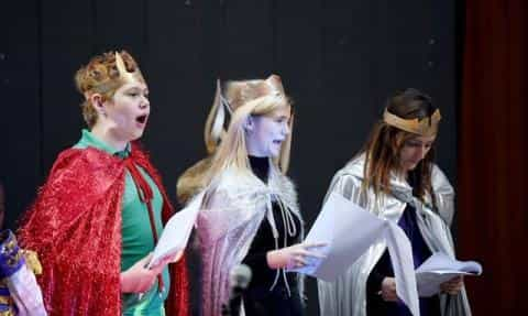 Learners Shine At Christmas Sharing Pantomime
