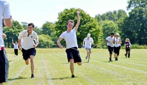 Hot Competition At Sports Day As Learners Display Teamwork