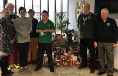LVS Hassocks supports Burgess Hill Christmas Hamper Project