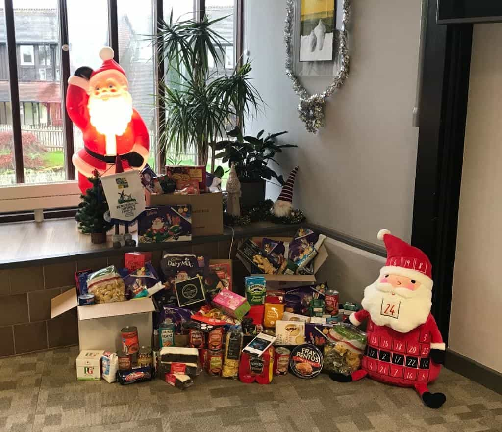 LVS Hassocks' donations to the Burgess Hill Christmas Hamper Project
