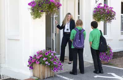 LVS Hassocks Headteacher Front Door